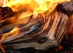 burning manuscript, adapting screen for stage