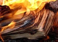 burning manuscript, adapting screen for stage