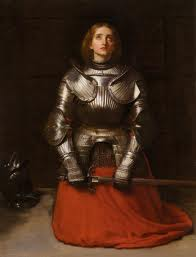 Painting of Joan of Arc